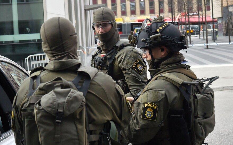 В Стокгольме неизвестные напали на полицейский патруль