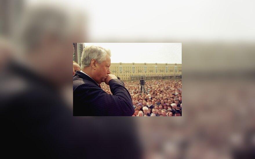 Экс-министр: во время путча 1991 года Ельцин пил водку