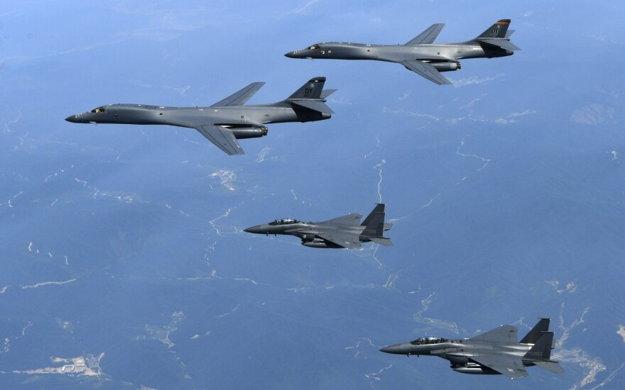 Истребители США вновь перехватили российские Ту-95 вблизи Аляски
