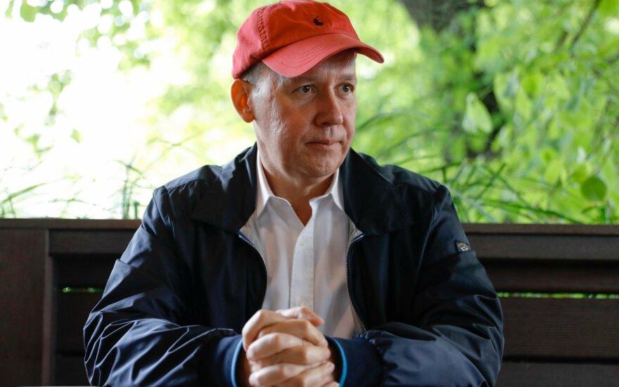 Белорусский оппозиционер Валерий Цепкало c супругой переехали в Латвию
