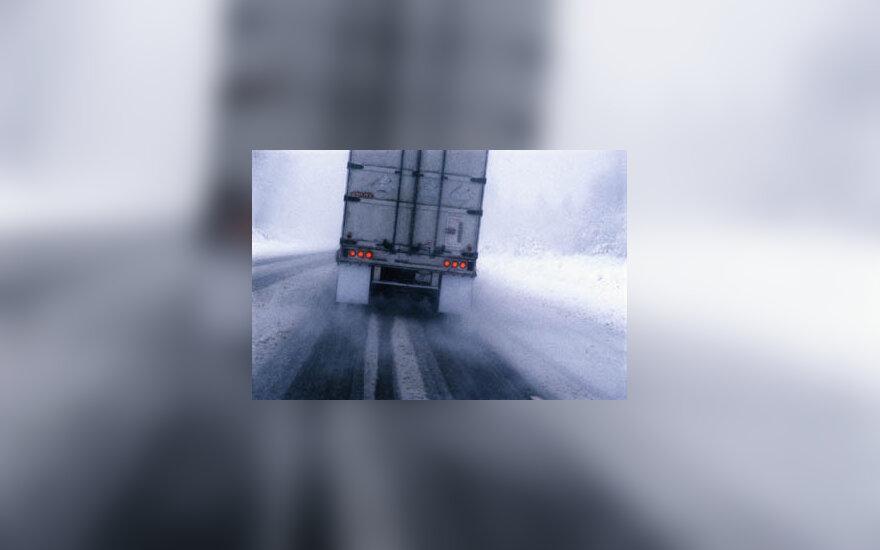 sunkvežimiai, transportas