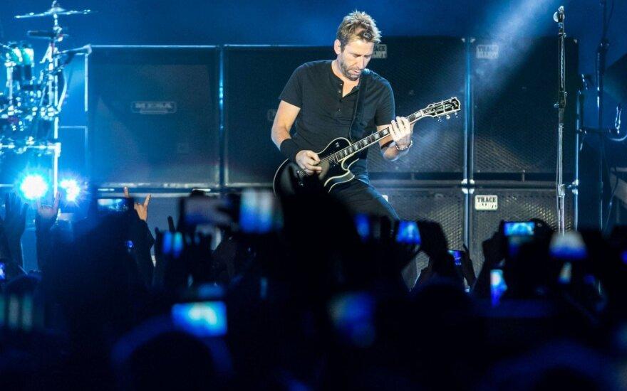 """""""Nickelback"""" koncertas Kaune"""