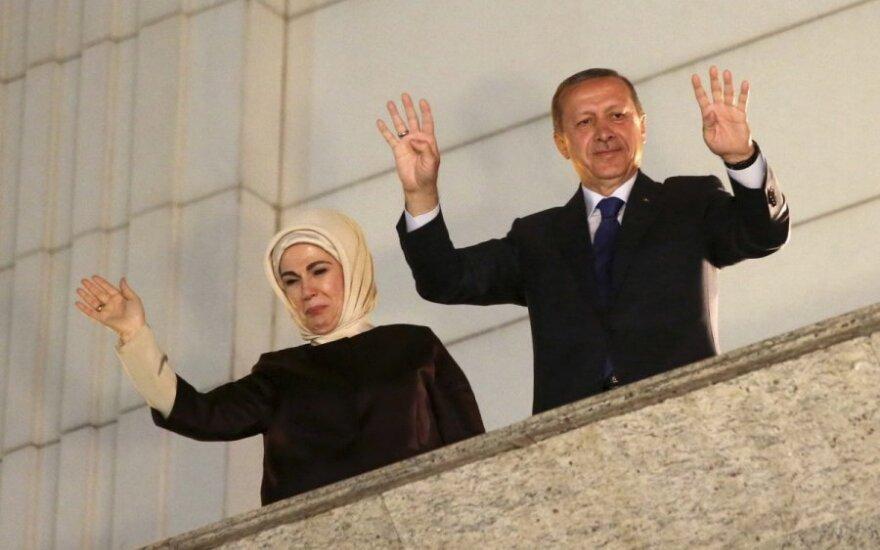 Turkey's Prime Minister Recep Tayyip Erdoğan was elected president on Sunday