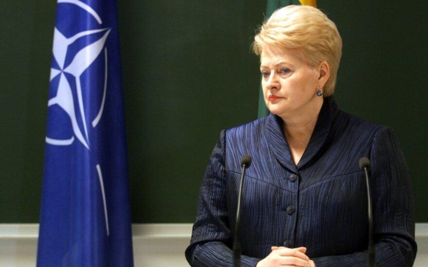 Grybauskaitė otrzymała zaproszenie na Paradę Zwycięstwa w Moskwie, ale z niego nie skorzysta