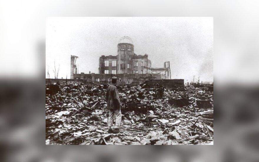 Хиросима после взрыва