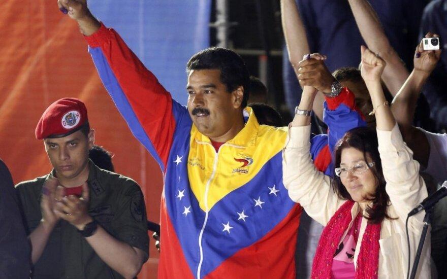 Venesuelos prezidentu tapo N.Maduro