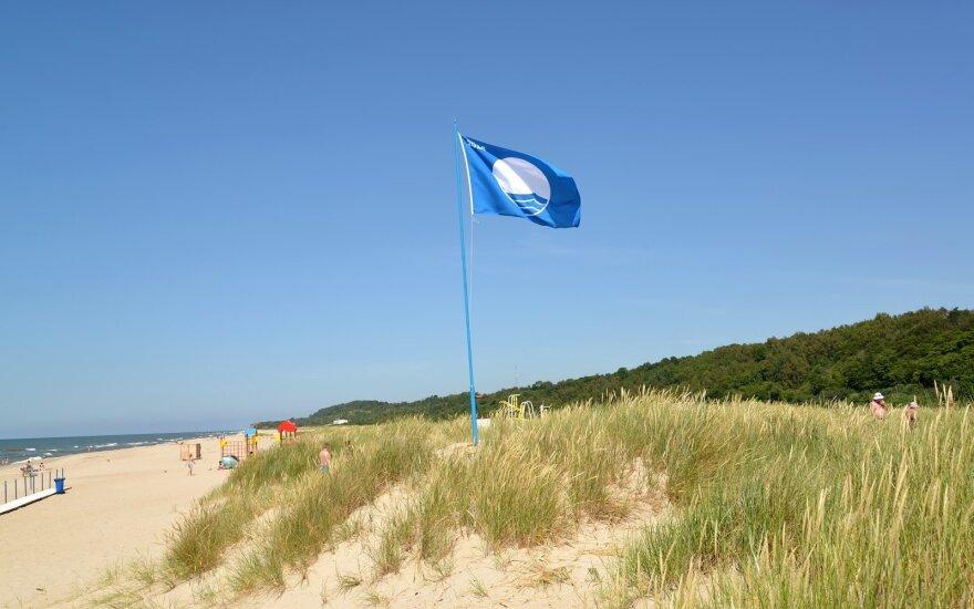 Пять пляжей Литвы получили Голубой флаг