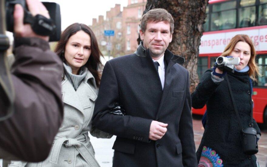 Vladimiras Antonovas su žmona Olga Jampolskaja