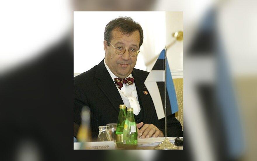 Президент Чехии объяснился с Ильвесом: он уважает Эстонию