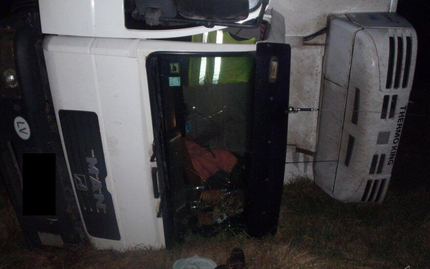 За решеткой оказался пьяный водитель из Латвии