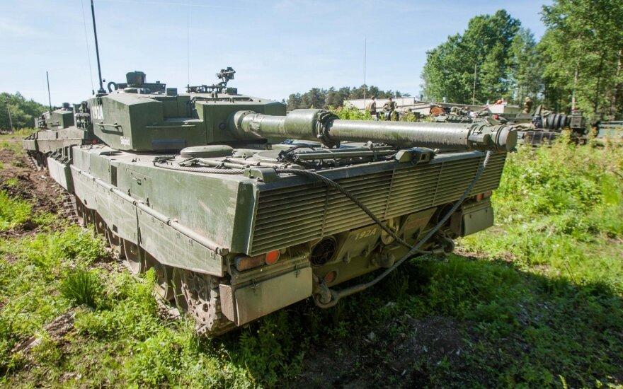 Польша перебрасывает танки Leopard ближе к границе с Беларусью