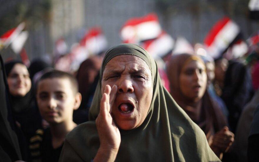 Visuomenė reaguoja į Egipto prezidento rinkimų rezultatus