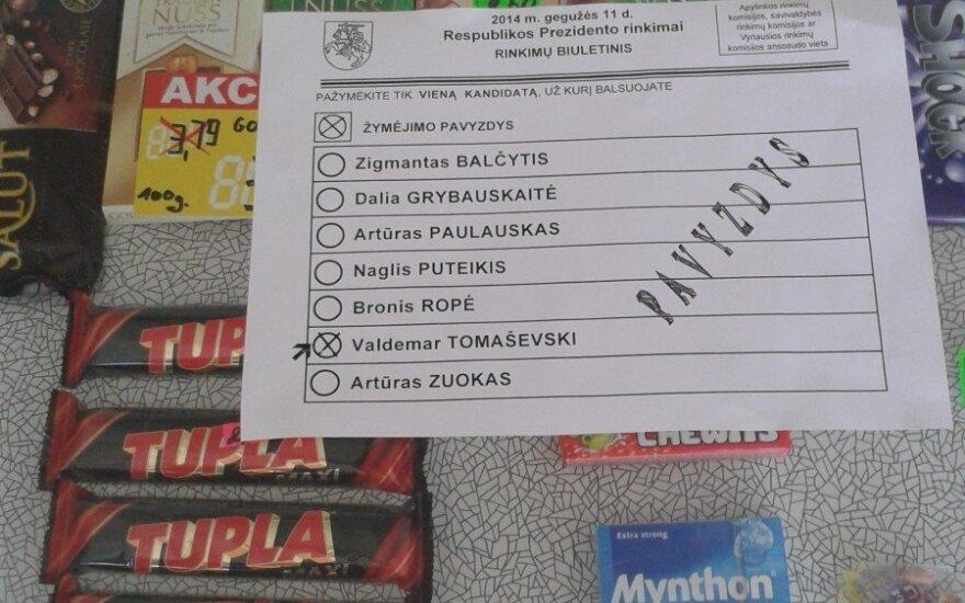 Агитация Томашевского злит других кандидатов