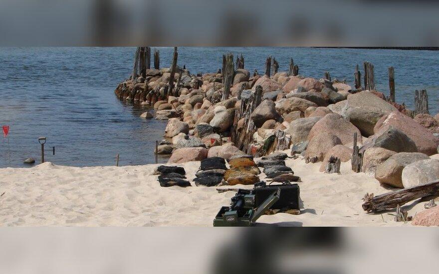В Балтийском море будут искать мины времен мировых войн