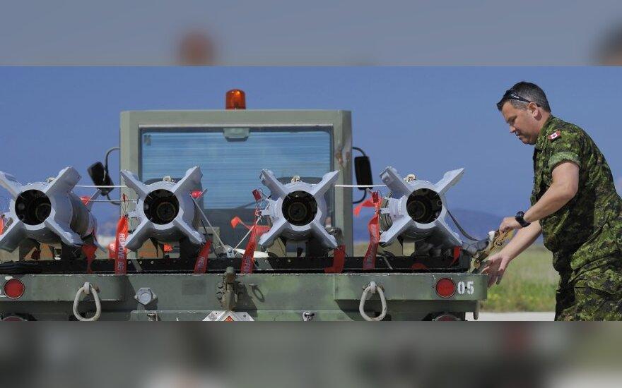 Libijoje antskrydžius rengiantis tarptautinis aljansas