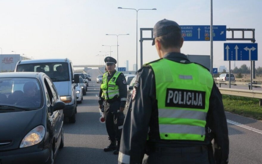 В Литве Владимира Путина наказали за превышение скорости