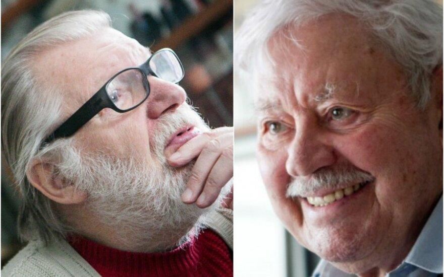 Банионис и Будрайтис получили национальную премию Литвы