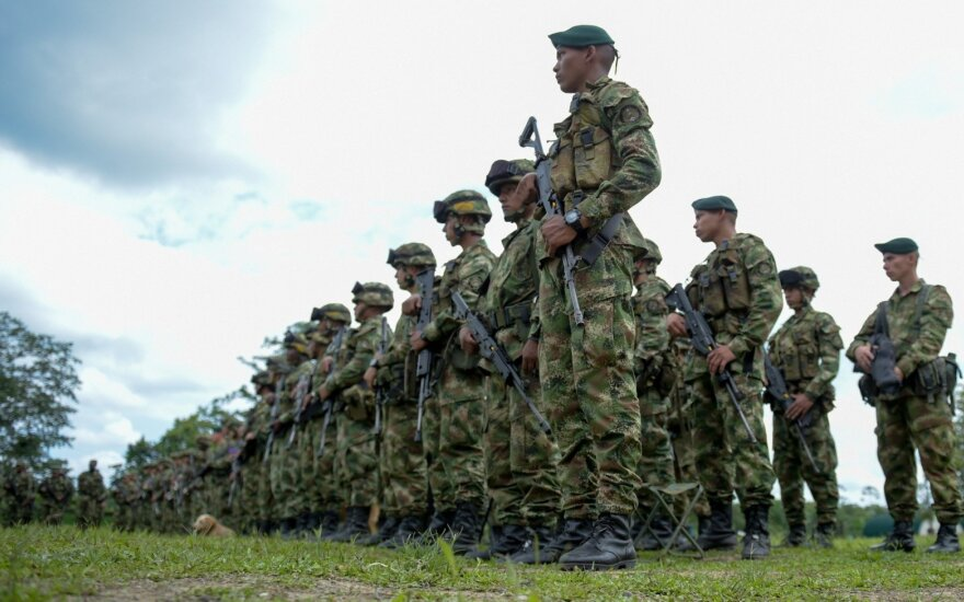 Kolumbijos kariai