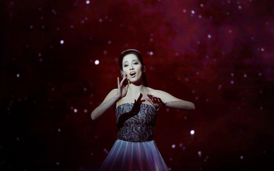 """Эстонию на """"Евровидении-2018"""" представит оперная певица Элина Нечаева"""