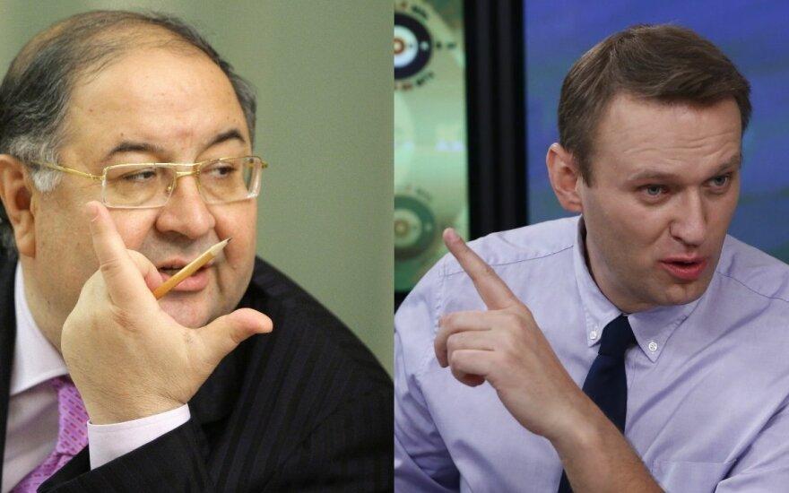 Миллиардер Усманов подает на Навального в суд, оппозиционер ответил