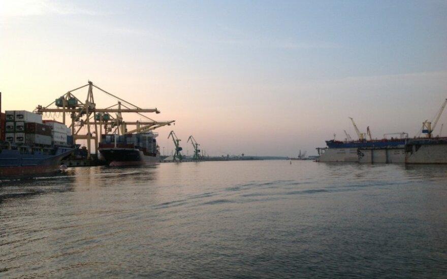 В Клайпедский порт пришли первые грузы для электросетей Беларуси