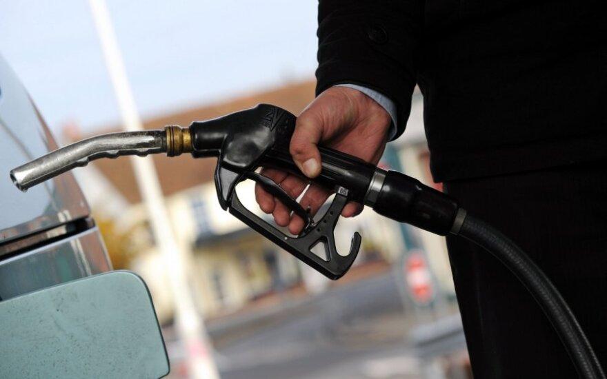 Цены на бензин в Литве за неделю выросли на 9 центов