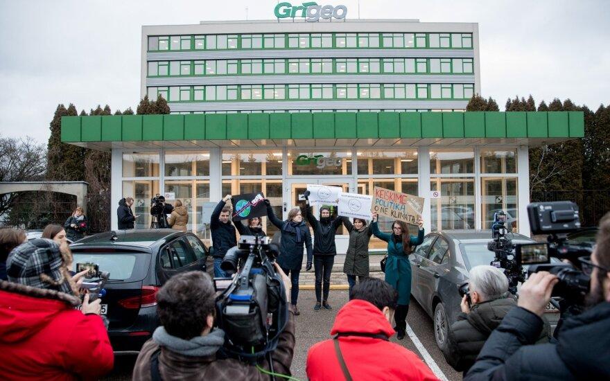 Прокуроры предъявили подозрения президенту Grigeo Гинтаутасу Пангонису