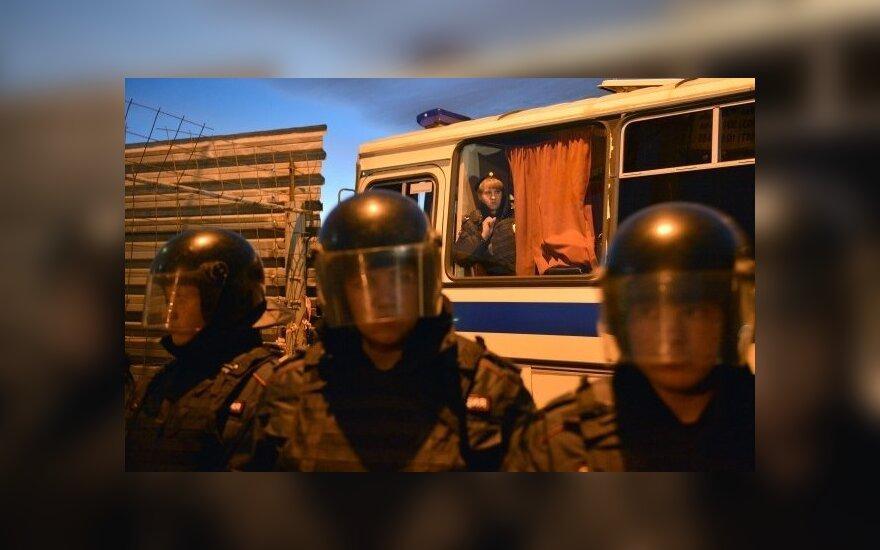 Maskvoje kilo masinės riaušės: užpulti imigrantai