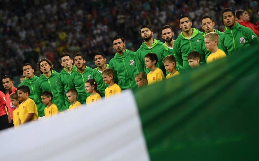 Футболисты сборной Мексики устроили оргию перед поездкой на ЧМ-2018
