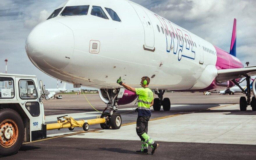 Количество рейсов в литовском воздушном пространстве выросло на 1%