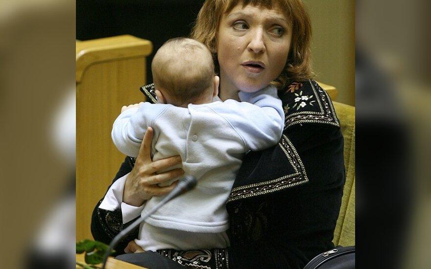 Баукуте снова будет кормить ребенка грудью в парламенте?