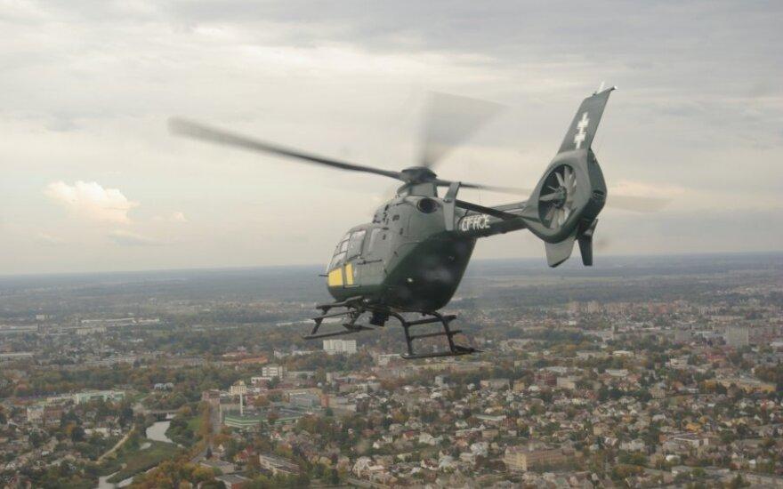 """Pasieniečių sraitasparnis """"Eurocopter"""""""