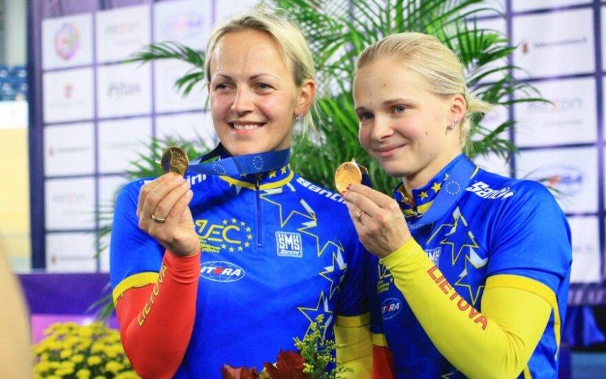 Simona Krupeckaitė ir Gintarė Gaivenytė