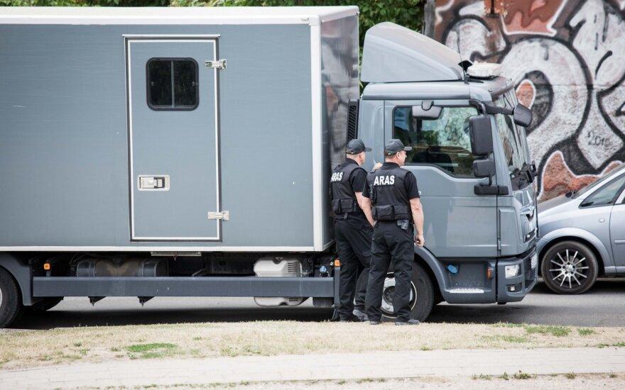 """В Вильнюсе введён план """"Щит"""" – обнаружены коробки с опасными предметами"""