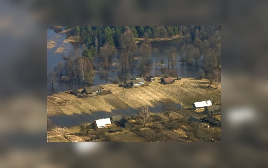 Nemunas patvino ir Baltarusijoje