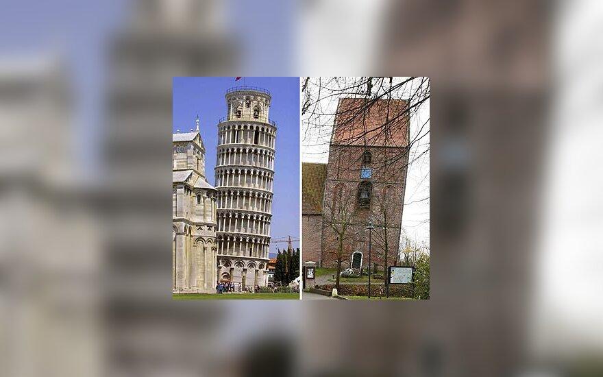 Pizos bokštas ir Surhuzeno miesto bažnyčia