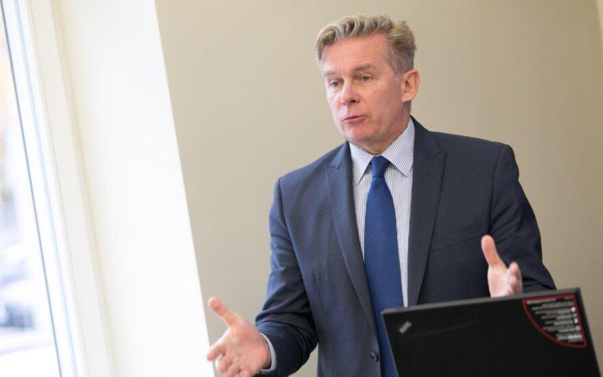 Ажубалис стал мишенью еще одной провокации против Литвы