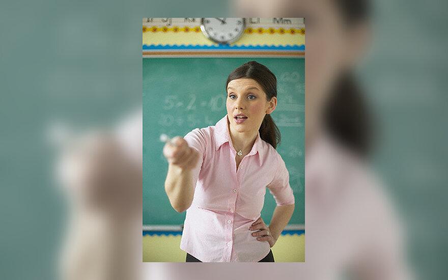 Mokytoja, mokykla, atsakinėti pamokas