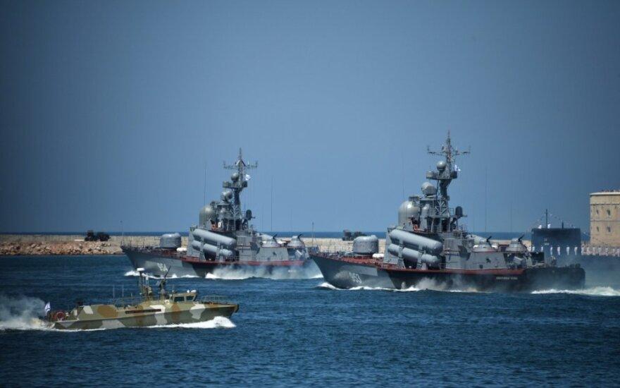 """Корвет """"Стойкий"""" проведет учения в Балтийском море"""