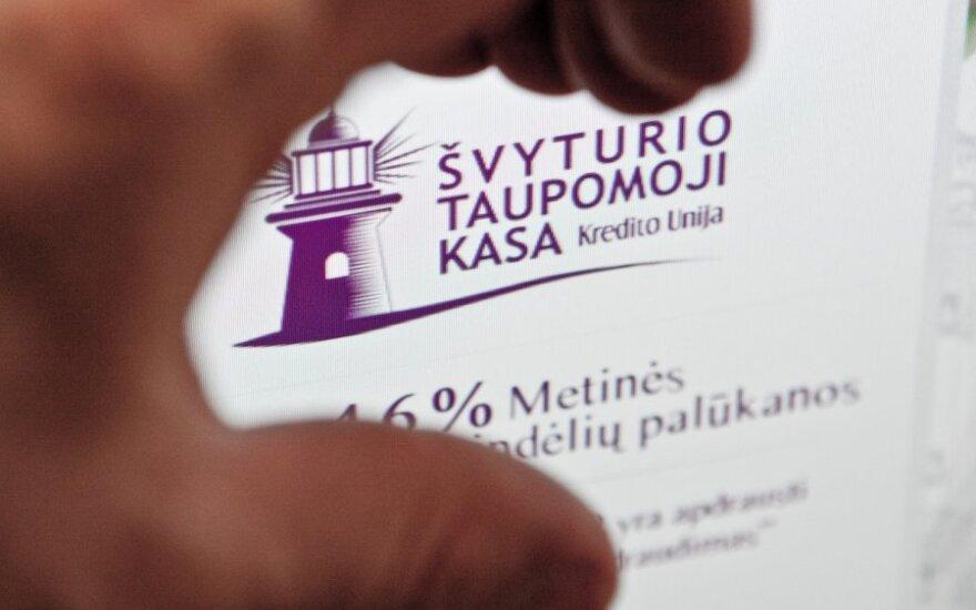 "После банкротства ""НКУ"" лицензии лишили унию Švyturio taupomoji kasa"