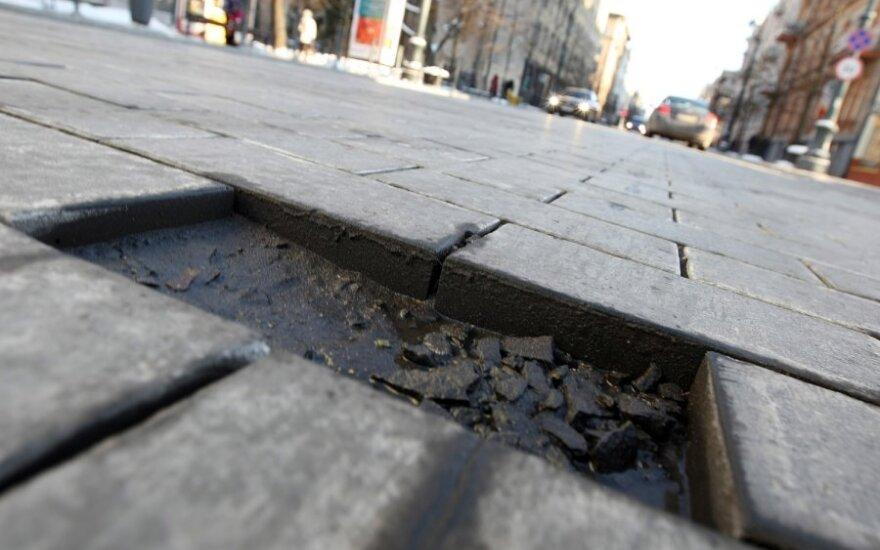 Консерваторы просят начать расследование в связи с реконструкцией проспекта Гедиминаса