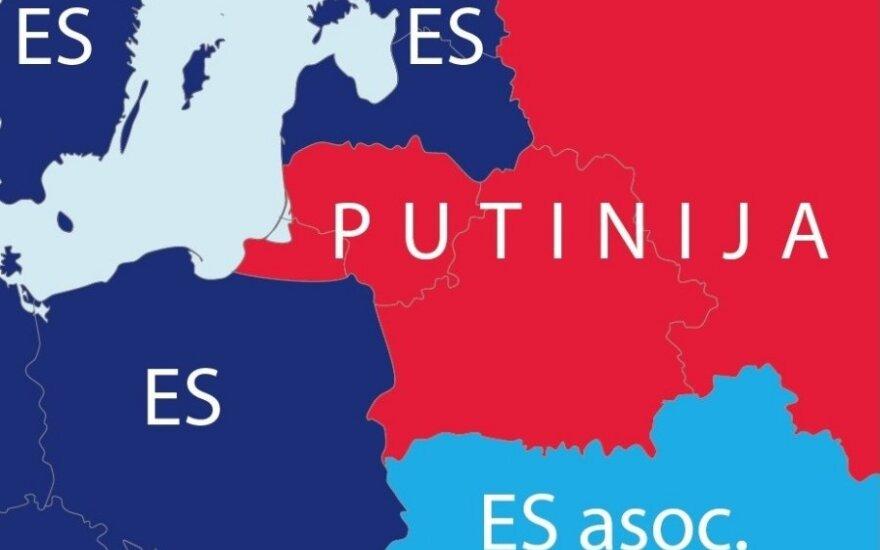 Пресса Британии: мечта Путина - перерисовать карту Европы