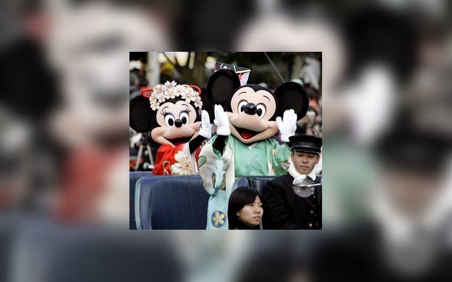 Walto Disney'aus personažai Peliukas Mikis ir Minė