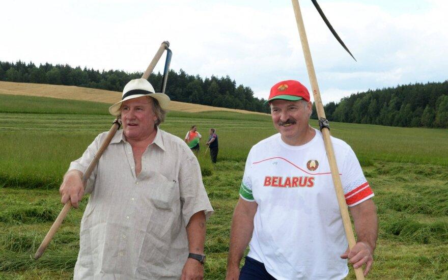 Gerardas Depardieu, Aleksandras Lukašenka