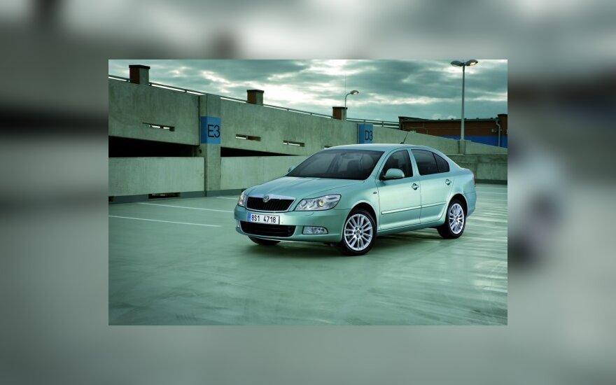 В октябре рынок новых авто в Литве вырос почти в два раза