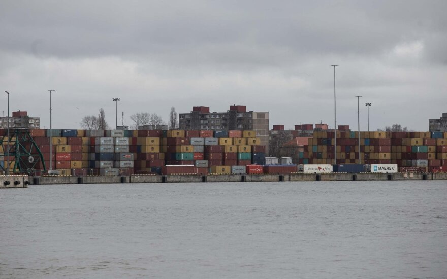 Клайпедский порт по погрузкам лидирует в государствах Балтии