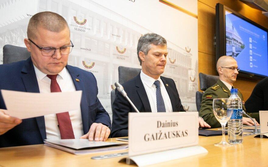 Dainius Gaižauskas, Darius Jauniškis, Remigijus Baltrėnas