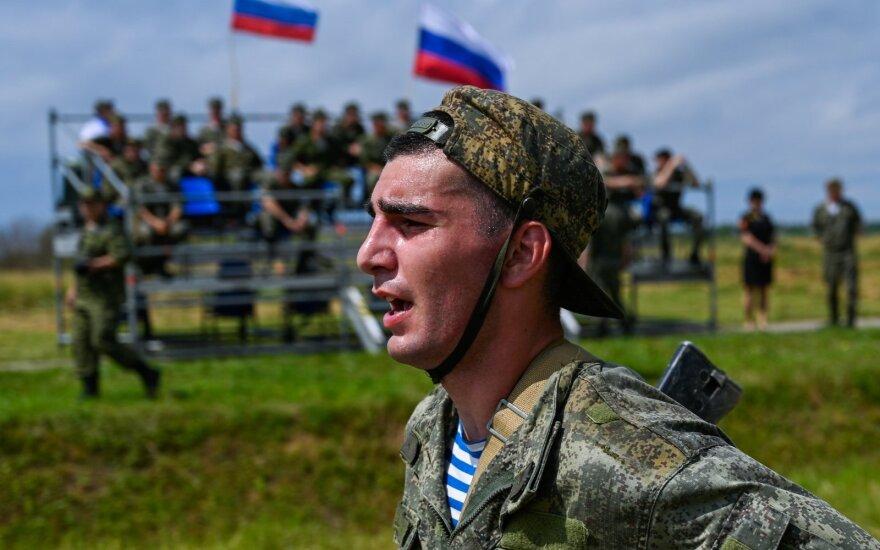 Rusijos pajėgų pratybos Kaliningrade