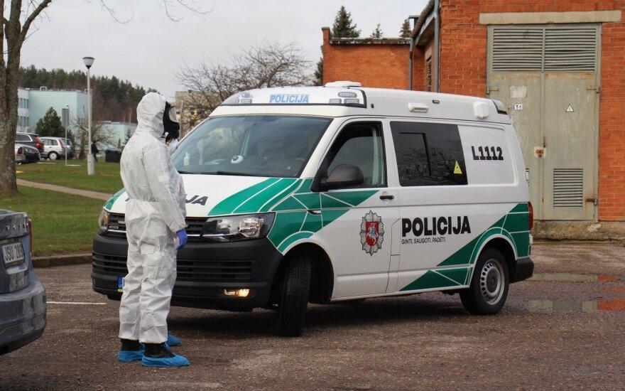 Литовская полиция проводит 8 расследований, связанных с коронавирусом