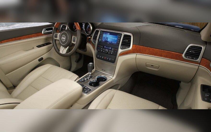 Электрический Jeep Grand Cherokee готовится к премьере